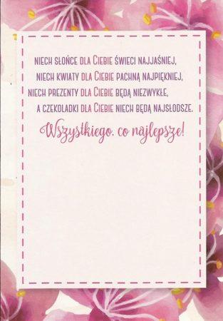 Kartki I życzenia Urodzinowe Poczta Kartkowa