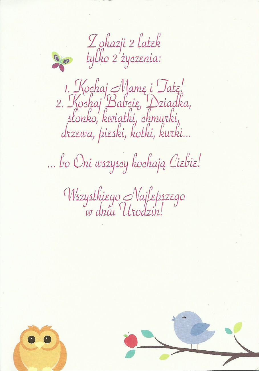 Zyczenia Urodzinowe Dla Dzieci Poczta Kartkowa
